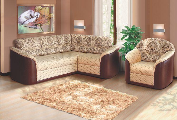 Алиса угловой диван с креслом
