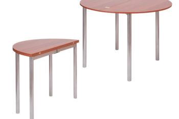 Стол овально-раскладной М2