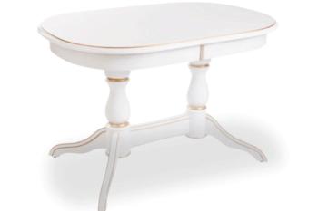 Обеденный стол Лира с патиной