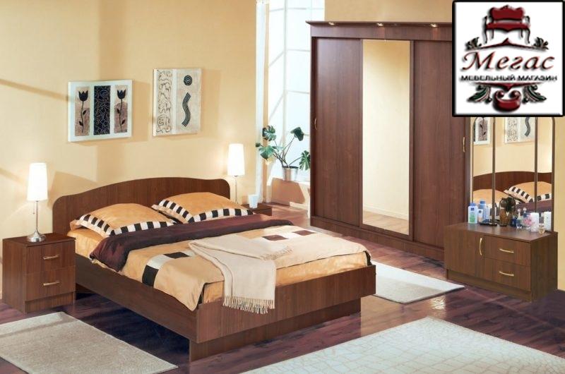 Спальня Светлана орех экко